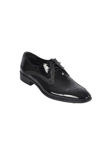 Voyager 4675 Siyah Rugan  Erkek Klasik Ayakkabı Siyah